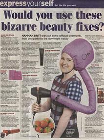 Daily express bizarre beauty fixes