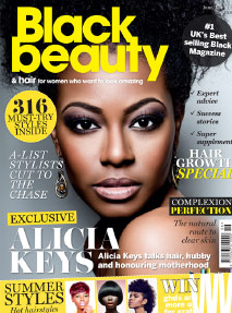 Black Beauty magazine features Mr Miles Berry