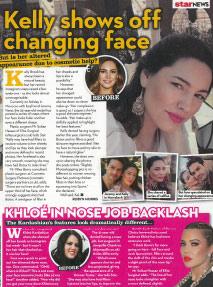 Kelly Brook face