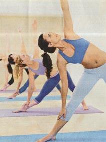 Yoga newspaper scan