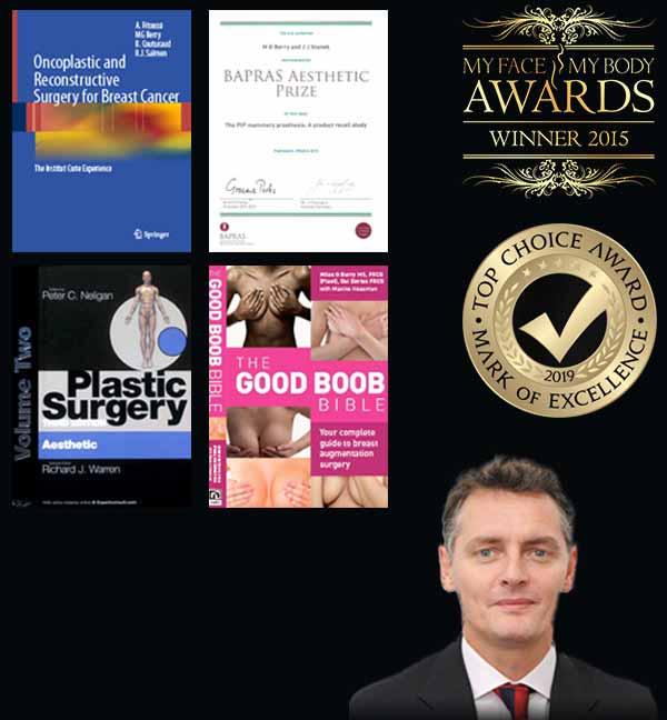 Awards for Mr Miles G Berry MS, FRCS (Plast)