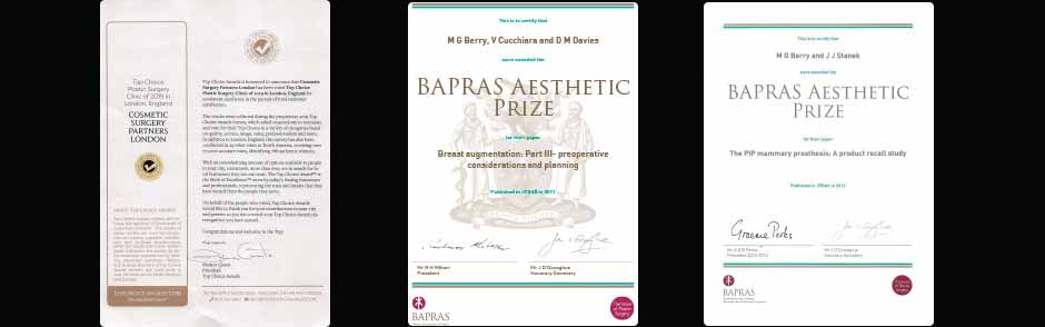 Cosmetic Surgeon Awards