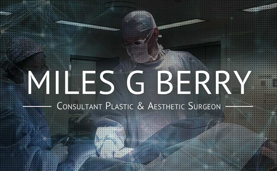 Plastic Surgeon Miles G Berry home banner